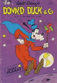 Cover Thumbnail for Donald Duck & Co (Hjemmet / Egmont, 1948 series) #37/1973
