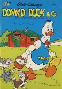 Cover Thumbnail for Donald Duck & Co (Hjemmet / Egmont, 1948 series) #39/1973