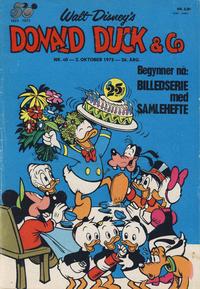 Cover Thumbnail for Donald Duck & Co (Hjemmet / Egmont, 1948 series) #40/1973