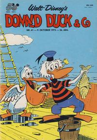 Cover Thumbnail for Donald Duck & Co (Hjemmet / Egmont, 1948 series) #41/1973