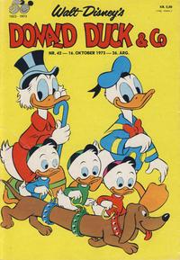 Cover Thumbnail for Donald Duck & Co (Hjemmet / Egmont, 1948 series) #42/1973