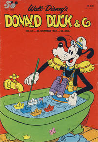 Cover Thumbnail for Donald Duck & Co (Hjemmet / Egmont, 1948 series) #43/1973