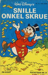 Cover Thumbnail for Donald Pocket (Hjemmet / Egmont, 1968 series) #21 - Snille onkel Skrue [1. opplag]