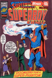 Cover Thumbnail for Superman Presents Superboy Comic (K. G. Murray, 1976 ? series) #100