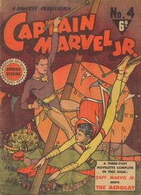 Cover Thumbnail for Captain Marvel Jr. (Cleland, 1947 series) #4