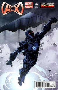 Cover Thumbnail for A+X (Marvel, 2012 series) #7 [Many Armors of Iron Man by Paul Renaud]