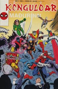 Cover Thumbnail for Kóngulóarmaðurinn (Semic International, 1985 series) #3/1988
