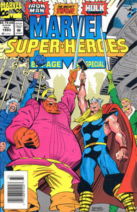 Cover Thumbnail for Marvel Super-Heroes (Marvel, 1990 series) #15 [Newsstand]