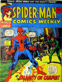 Cover Thumbnail for Spider-Man Comics Weekly (Marvel UK, 1973 series) #78