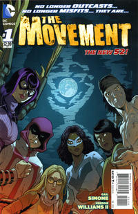 Cover Thumbnail for The Movement (DC, 2013 series) #1