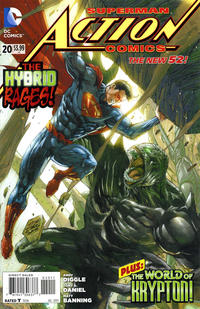 Cover Thumbnail for Action Comics (DC, 2011 series) #20 [Direct Sales]