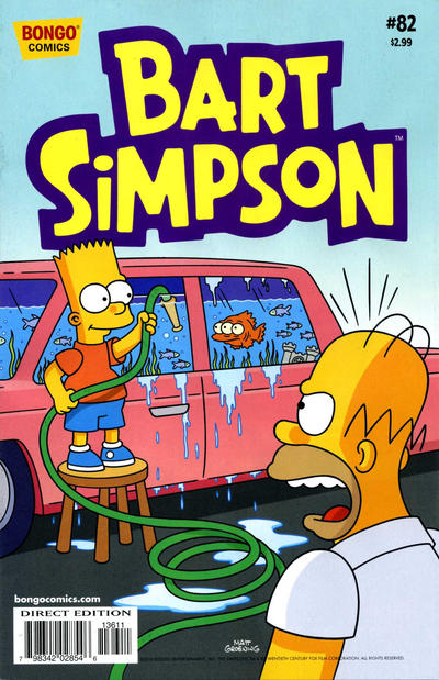 Cover for Simpsons Comics Presents Bart Simpson (Bongo, 2000 series) #82