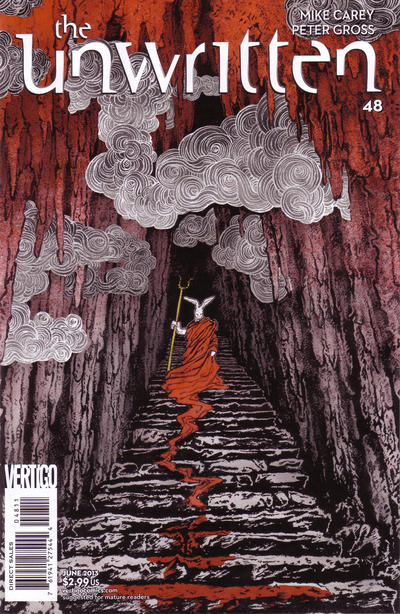 Cover for The Unwritten (DC, 2009 series) #48
