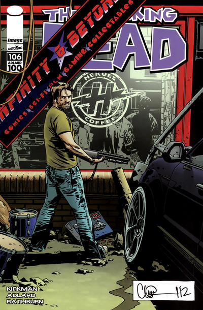 Cover for The Walking Dead (Image, 2003 series) #106 [Infinity & Beyond Variant]