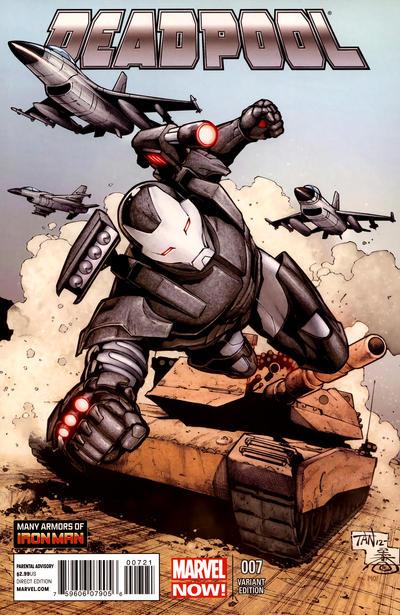 Cover for Deadpool (Marvel, 2013 series) #7
