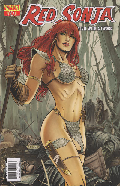 Cover for Red Sonja (Dynamite Entertainment, 2005 series) #60 [Cover A]
