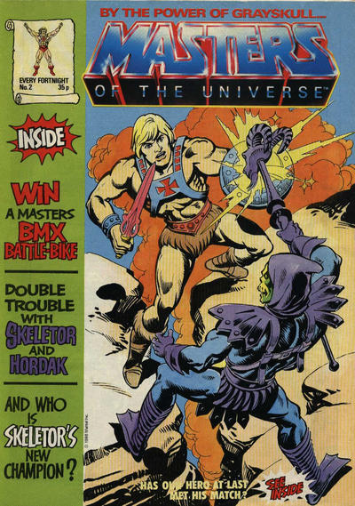 Cover for Masters of the Universe (Egmont UK, 1986 series) #2