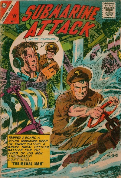 Cover for Submarine Attack (Charlton, 1958 series) #39