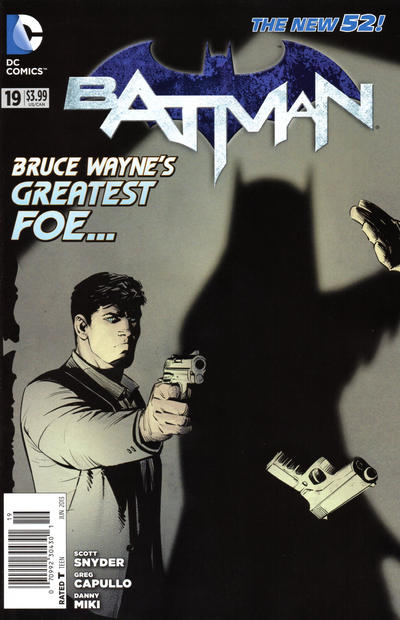 Cover for Batman (DC, 2011 series) #19 [MAD Magazine Demo Cover]