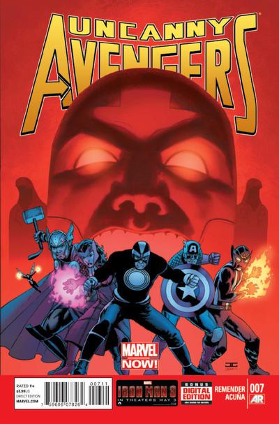 Cover for Uncanny Avengers (Marvel, 2012 series) #7