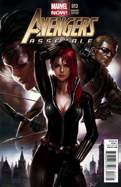 Cover for Avengers Assemble (Marvel, 2012 series) #13 [In-Hyuk Lee Variant]
