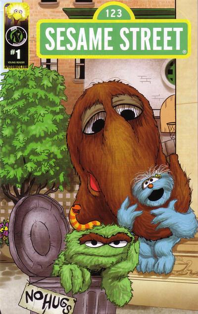 Cover for Sesame Street (Ape Entertainment, 2013 series) #1 [Cover D]