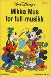 Cover Thumbnail for Donald Pocket (1968 series) #22 - Mikke Mus for full musikk [1. opplag]
