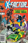 Cover for X-Factor (Marvel, 1986 series) #4 [Newsstand]