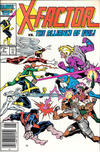 Cover for X-Factor (Marvel, 1986 series) #5 [Newsstand]