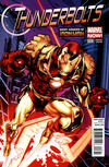 Cover for Thunderbolts (Marvel, 2013 series) #8 [Many Armors of Iron Man]