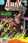 Cover for Arak / Son of Thunder (DC, 1981 series) #18 [Canadian]