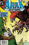 Cover for Arak / Son of Thunder (DC, 1981 series) #19 [Canadian]