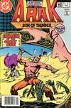 Cover for Arak / Son of Thunder (DC, 1981 series) #20 [Canadian]