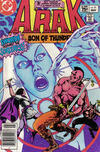 Cover for Arak / Son of Thunder (DC, 1981 series) #21 [Canadian]