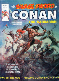 Cover Thumbnail for The Savage Sword of Conan the Barbarian (Yaffa / Page, 1974 series) #1