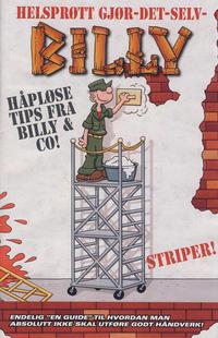 Cover Thumbnail for Bilag til Billy (Hjemmet / Egmont, 2001 series) #8/2013