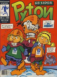 Cover Thumbnail for Pyton (Bladkompaniet / Schibsted, 1988 series) #2/1994