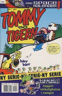 Cover Thumbnail for Tommy og Tigern (Bladkompaniet, 1989 series) #1/2001