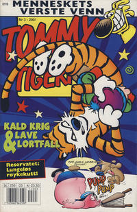 Cover for Tommy og Tigern (Bladkompaniet / Schibsted, 1989 series) #3/2001