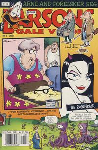 Cover Thumbnail for Larsons gale verden (Bladkompaniet / Schibsted, 1992 series) #3/2001
