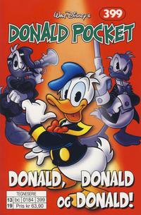 Cover Thumbnail for Donald Pocket (Hjemmet / Egmont, 1968 series) #399