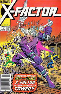 Cover Thumbnail for X-Factor (Marvel, 1986 series) #2 [Newsstand]