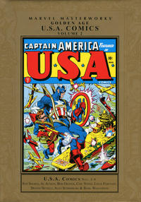 Cover Thumbnail for Marvel Masterworks: Golden Age U.S.A. Comics (Marvel, 2007 series) #2 [Regular Edition]