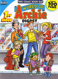 Cover Thumbnail for World of Archie Digest, Free Comic Book Day Edition (Archie, 2013 series) #1
