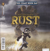 Cover Thumbnail for 2013 Free Comic Book Day Flip Book [Mouse Guard / Royden Lepp's Rust] (Archaia Studios Press, 2013 series)