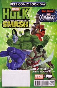 Cover Thumbnail for Free Comic Book Day 2013 (Avengers / Hulk) (Marvel, 2013 series) #1