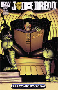 Cover Thumbnail for Free Comic Book Day 2013: Judge Dredd Classics (IDW, 2013 series)