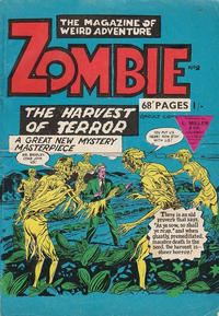 Cover Thumbnail for Zombie (L. Miller & Son, 1961 series) #9