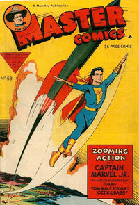 Cover Thumbnail for Master Comics (L. Miller & Son, 1950 series) #58