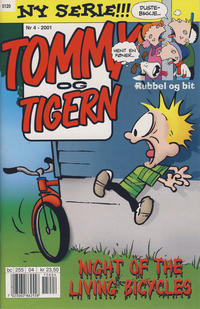 Cover Thumbnail for Tommy og Tigern (Bladkompaniet / Schibsted, 1989 series) #4/2001